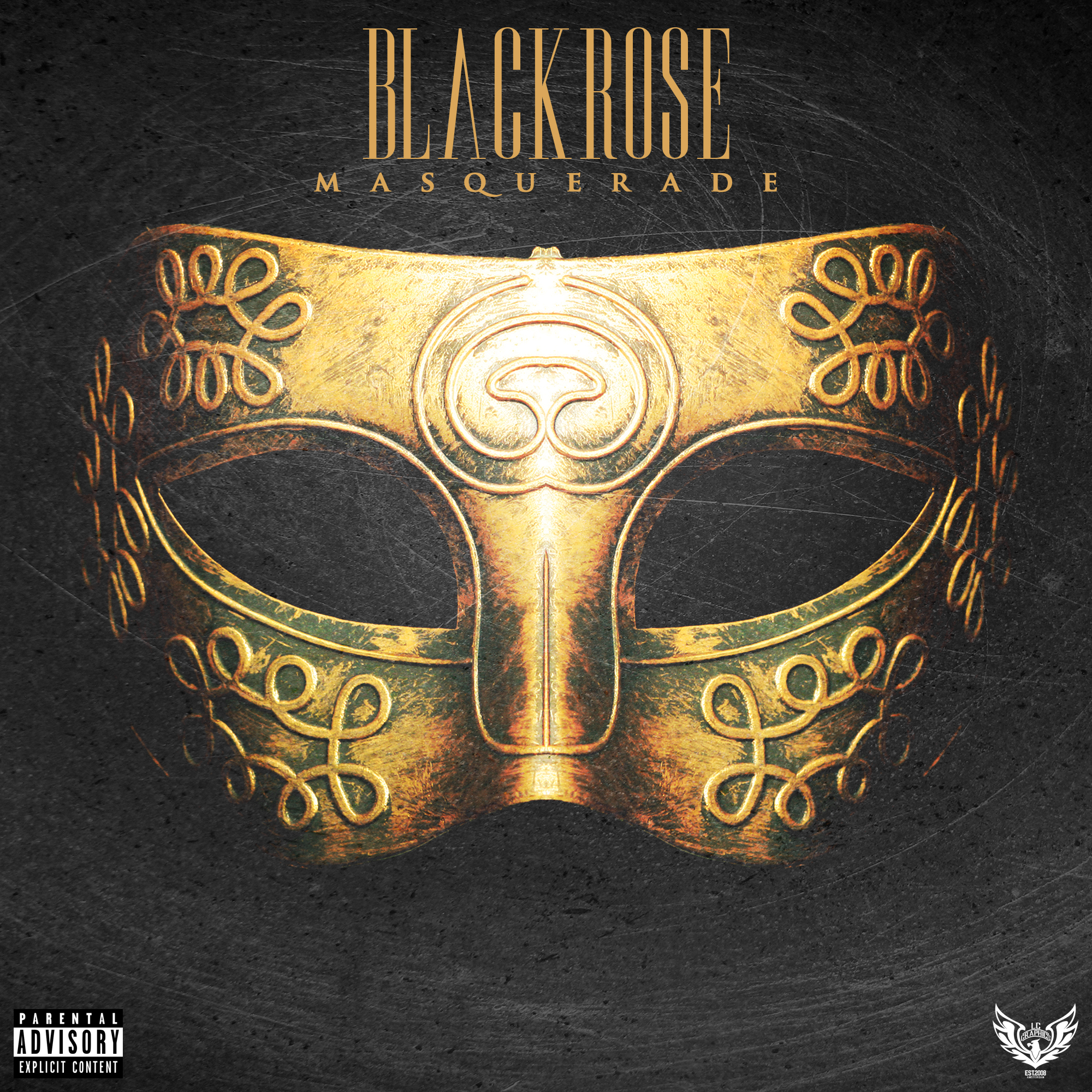 Blvck Rose - Masquerade cover art (byLCGraphics)