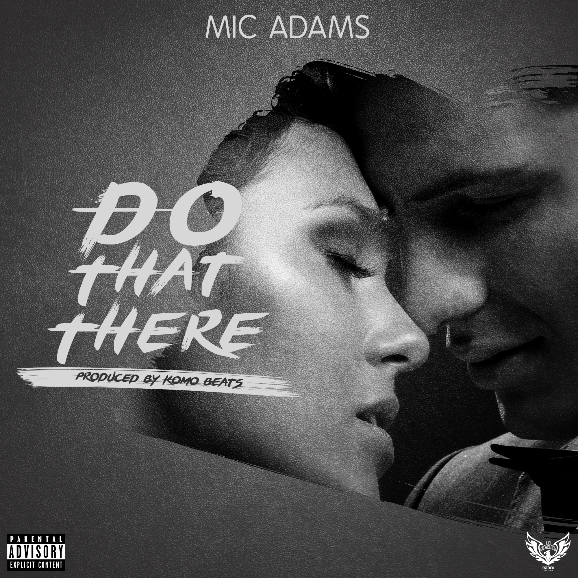 Mic Adams - Do That There cover art 2016 (byLCGraphics)
