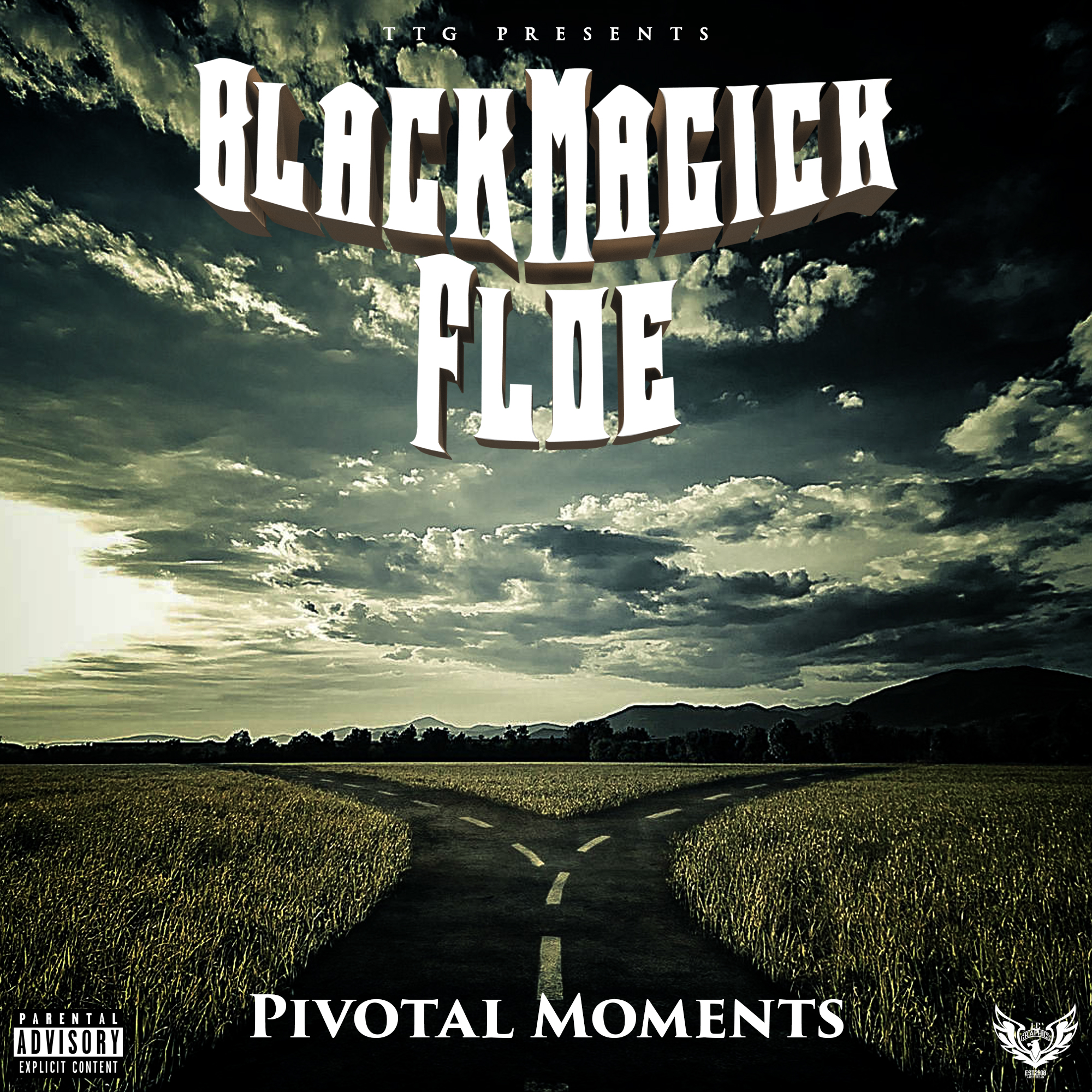 Black Magick Floe - Pivotal Moments cover art v2 (byLCGraphics)